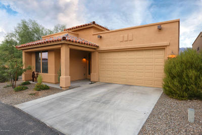 Single Family Home Active Contingent: 7349 E Sabino Terrace Place