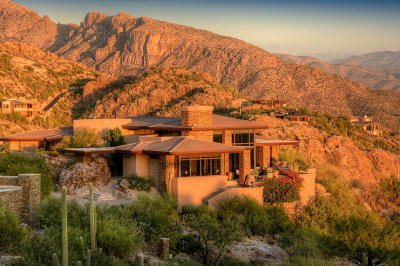 Tucson Single Family Home For Sale: 6921 E Rock Ledge Place