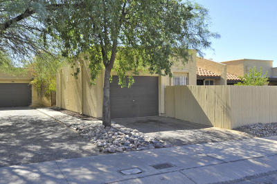Pima County Townhouse Active Contingent: 4521 W Pyracantha Drive