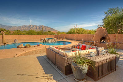 Oro Valley Single Family Home Active Contingent: 2599 W Lambert Lane