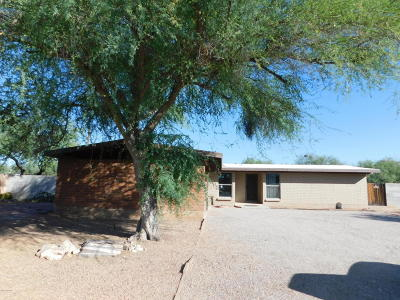 Tucson Single Family Home Active Contingent: 1518 W Hudson Place