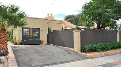 Pima County Townhouse Active Contingent: 4357 W Pyracantha Drive