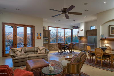 Tucson Single Family Home Active Contingent: 1340 N Tanque Verde Loop Road