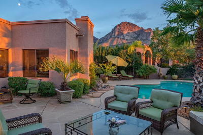 Oro Valley Single Family Home Active Contingent: 10265 N Carristo Drive