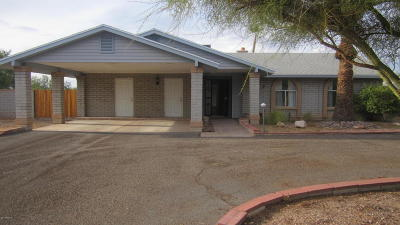Tucson Single Family Home Active Contingent: 6649 N Montrose Drive