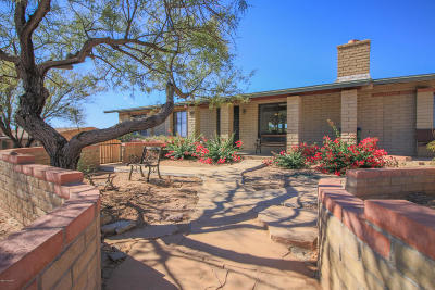 Tucson Single Family Home For Sale: 6763 N Quartzite Canyon Place