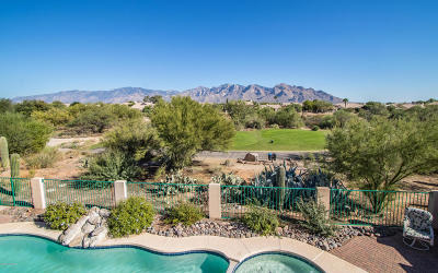 Oro Valley Single Family Home For Sale: 11100 N Divot Drive