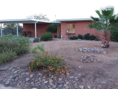 Tucson Single Family Home For Sale: 2901 W Verona Place