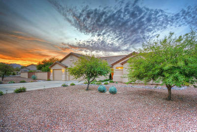 Marana Single Family Home For Sale: 5651 N Sunset Heights Court