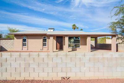 Tucson Single Family Home Active Contingent: 2800 W Calle Ocio