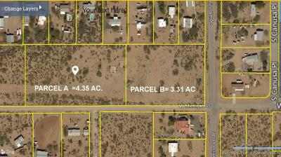 Residential Lots & Land For Sale: 4302 S Camino Verde Lot A