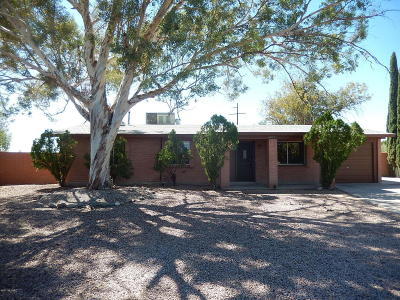 Tucson Single Family Home For Sale: 4872 S Champlain Place