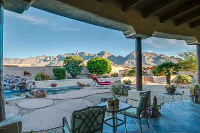 Oro Valley Single Family Home Active Contingent: 49 E Morning Ridge Place