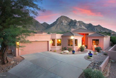 Tucson Single Family Home Active Contingent: 1360 E Rams Hill Drive