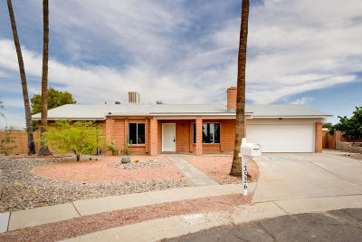 Tucson Single Family Home Active Contingent: 3526 W Blacksill Drive