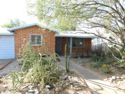 Tucson Single Family Home For Sale: 2423 N Sycamore Boulevard
