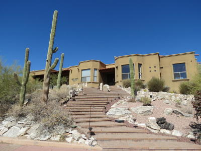 Tucson Single Family Home For Sale: 5339 N Sahuaro Canyon Lane