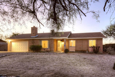 Pima County, Pinal County Single Family Home Active Contingent: 4270 N Wolford Road