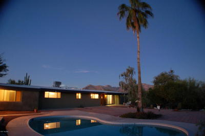 Tucson Single Family Home Active Contingent: 1244 W Las Lomitas Road