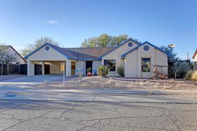 Tucson Single Family Home For Sale: 4850 W Vicuna Drive