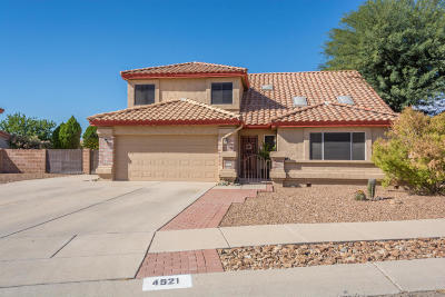 Tucson Single Family Home For Sale: 4521 W Lord Redman Loop