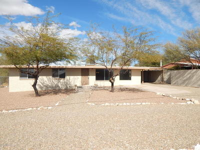 Tucson Single Family Home Active Contingent: 5450 W Nebraska Street