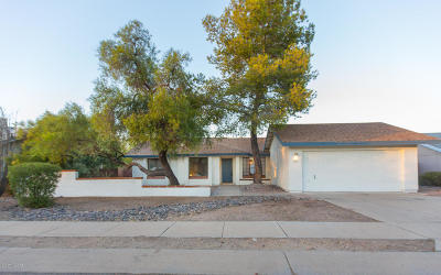 Tucson Single Family Home For Sale: 1240 W Eureka Street