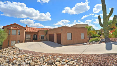 Tucson Single Family Home For Sale: 6440 N Regal Manor Drive