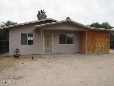 Tucson Single Family Home For Sale: 2834 N Estrella Avenue