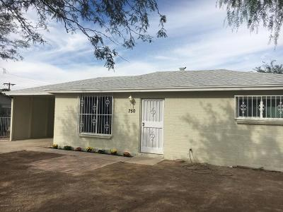 Single Family Home For Sale: 750 W Santa Louisa Street