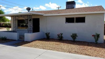 Pima County Single Family Home Active Contingent: 4160 E Montecito Street