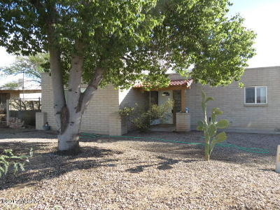 Tucson Single Family Home For Sale: 4431 W Mars Street