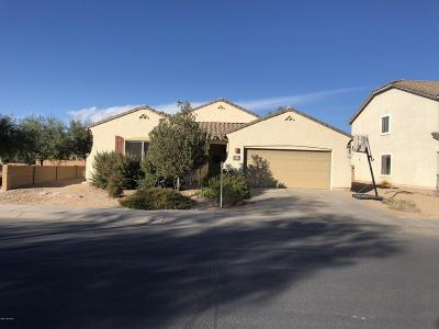Marana Single Family Home Active Contingent: 11076 W Jute Way
