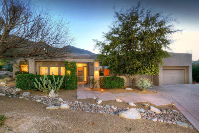 Tucson Single Family Home For Sale: 6439 N Desert Wind Circle