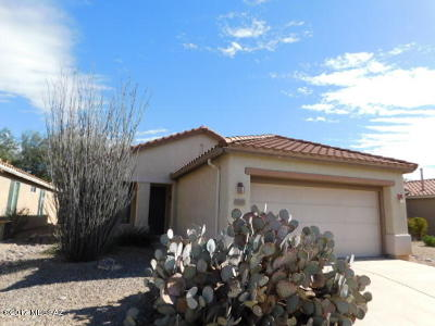 Tucson Single Family Home For Sale: 9366 N Desert Mist Lane