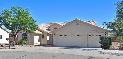 Sahuarita Single Family Home For Sale: 18011 S Camino Del Ferrocarril