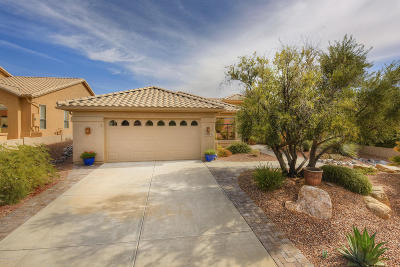 Saddlebrooke Single Family Home Active Contingent: 38055 S Flower Mesa Drive