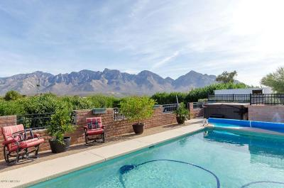 Oro Valley Single Family Home For Sale: 11700 N Mandarin Lane