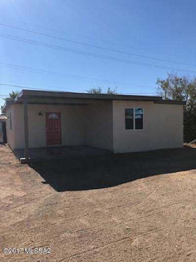 Pima County Single Family Home For Sale: 102 W Glenn Street