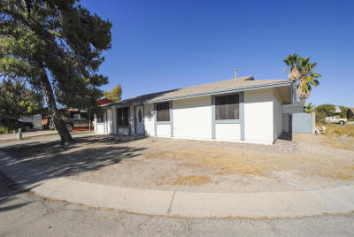 Tucson Single Family Home For Sale: 2540 W Vereda Verde