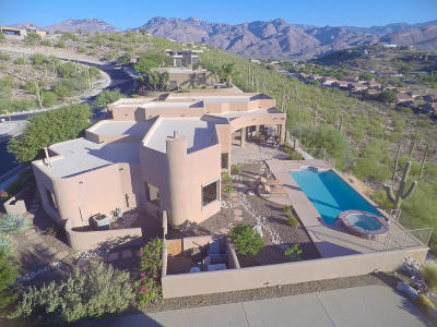 Pima County, Pinal County Single Family Home For Sale: 4242 N Quail Canyon Drive
