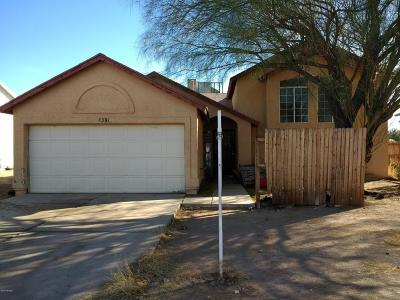 Pima County, Pinal County Single Family Home Active Contingent: 7391 S Via Promontorio