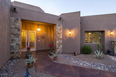 Tucson Single Family Home Active Contingent: 5336 W Spectacular Way