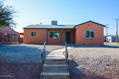Pima County Single Family Home Active Contingent: 2000 E Spring Street