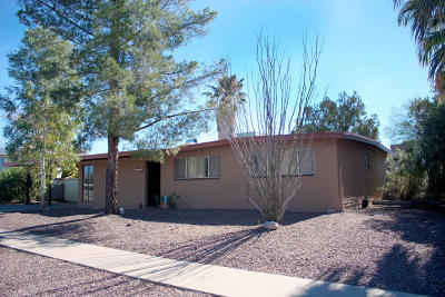 Tucson Single Family Home Active Contingent: 8402 E Beverly Street