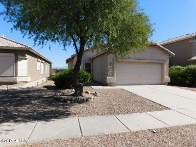 Tucson AZ Single Family Home For Sale: $145,000