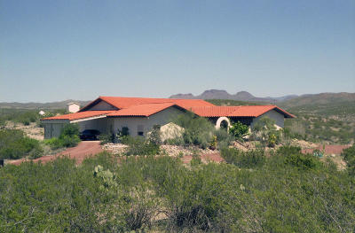 Cochise County Single Family Home For Sale: 1333 W Lara Lane