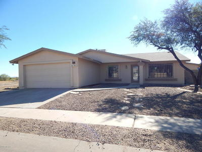 Tucson Single Family Home For Sale: 1481 W Vestel Drive