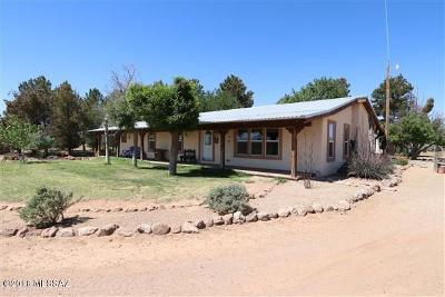 Willcox Manufactured Home For Sale: 10501 S Nichols Ranch Road
