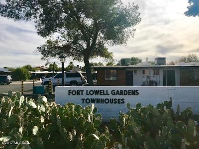Pima County Townhouse For Sale: 3404 E Fort Lowell Road